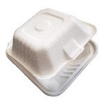 Hinged Lid Container, Small, 6 x 6 x 3.19