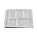 6 Compartment Tray, 2/125/case