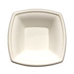 Diamond Square Rimmed Bowl, 12 oz., 4/125/case