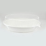 Oval Bowl Clear Lid, 20 oz., 4/125/case