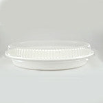 Oval Bowl Clear Lid, 24 oz., 2/125/case