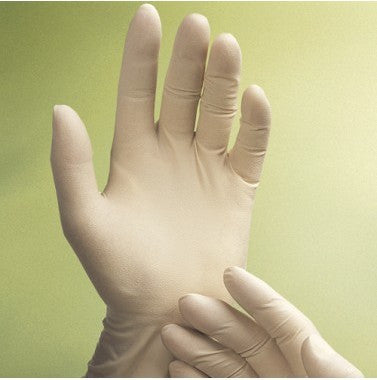 Gold Latex Powder-Free Exam Glove, Chlorinated Textured, XS-L 10x100, XL 10x90