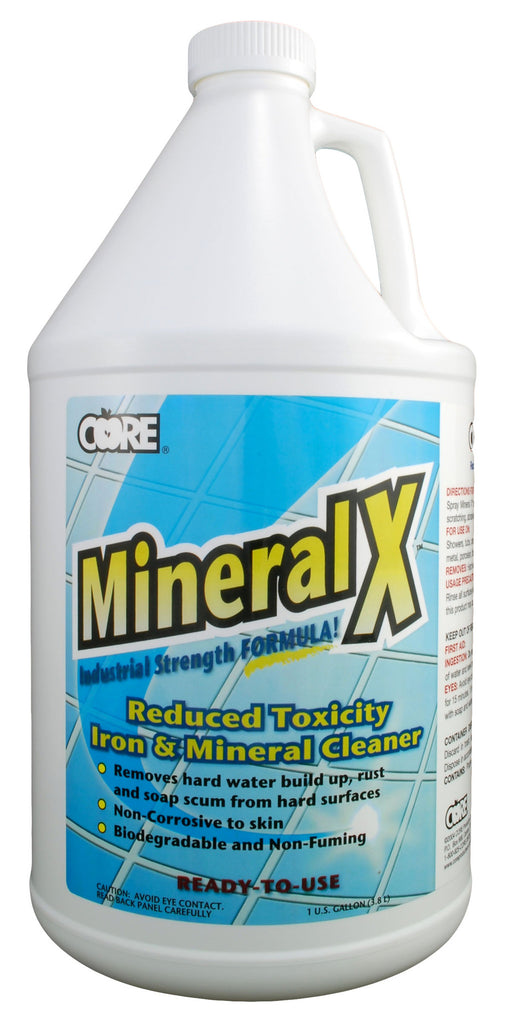 Mineral X Iron & Mineral Cleaner, 1 gal.