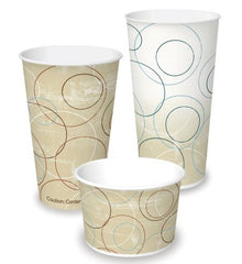 IP Cold Paper Cup, Champagne Design, 12 oz., 50/20/case