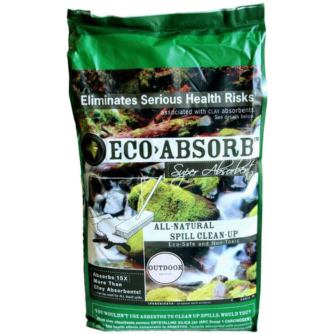 Eco-Absorb, All Natural Spill Clean-Up, 2 Liter Bag