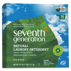 Seventh Gengeration Natural Powder Laundry Detergent, 112 oz.