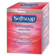 Softsoap Antibacterial Hand Soap, Bag In A Box, 800mL Refill