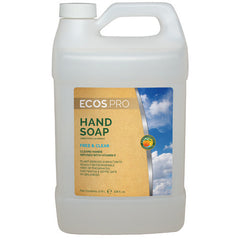 Hand Soap - Free & Clear (PL9663/04), Earth Friendly ECOS Pro, 1 gal