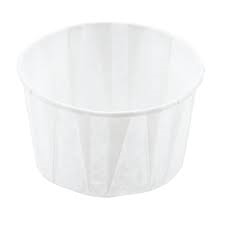 Genpak 3.25 oz., Harvest Paper Soufflé / Portion Cup, 5000/case