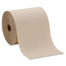 "GP Envision High Capacity, 1-Ply, 7.87"" x 800', Brown, 6 rolls/case"