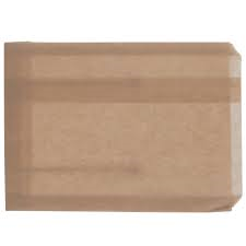 Grease Resistant Sandwich Bags - 6-1/2 x 1 x 8