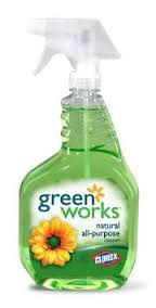 Green Works Natural Glass & Surface Cleaner, Spray, 24 fl. oz.