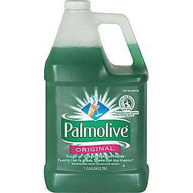 Palmolive Dishwashing Liquid and Antibacterial Hand Soap, 1 gal., 4/case