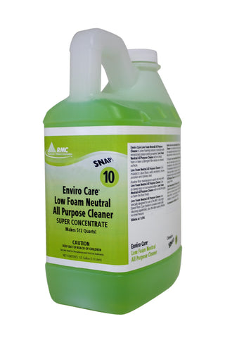 RMC SNAP! Enviro Care Low Foam Neutral All Purpose Cleaner, 1/2 gallon