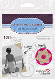 Scrapbook Adhesives Kraft Self-Adhesive Scrapbook Photo Corners