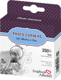 Scrapbook Adhesives Clear Self-Adhesive Scrapbook Photo Corners