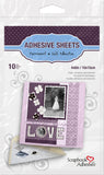 Scrapbook Adhesives 4x6 Adhesive Die Cut Sheet
