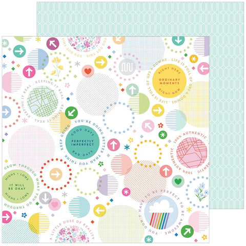 Pinkfresh Studio Keeping It Real A Little Chaos Patterned Paper