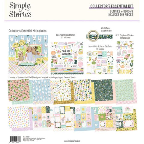 Simple Stories Bunnies + Blooms Collector's Essential Kit