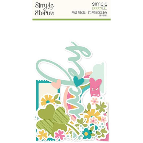 Simple Stories Simple Pages Page Pieces - St. Patrick's Day