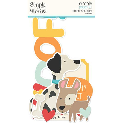 Simple Stories Simple Pages Page Pieces - Woof