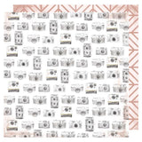 Heidi Swapp Honey & Spice Captured Patterned Paper