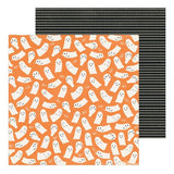 Crate Paper Hey, Pumpkin Ghostly Patterned Paper
