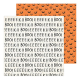 Crate Paper Hey, Pumpkin Boo Patterned Paper