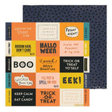 Crate Paper Hey, Pumpkin Eeek Patterned Paper