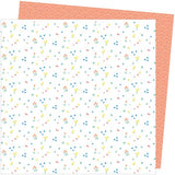 American Crafts Amy Tangerine Picnic In The Park Dainty Dots Patterned Paper