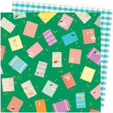 American Crafts Amy Tangerine Picnic In The Park From Above Patterned Paper