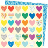 American Crafts Amy Tangerine Picnic In The Park Whole Lotta Love Patterned Paper