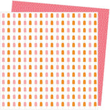 American Crafts Amy Tangerine Picnic In The Park Sweet Treat Patterned Paper