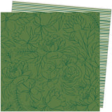 American Crafts Amy Tangerine Late Afternoon Go Green Patterned Paper