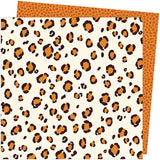 American Crafts Amy Tangerine Late Afternoon Spotted Patterned Paper