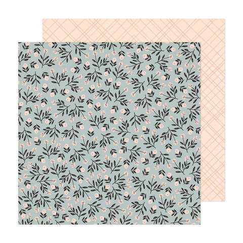 Crate Paper Fresh Bouquet Ever After Patterned Paper