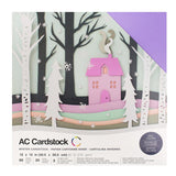 American Crafts Variety Cardstock Pack - Winter
