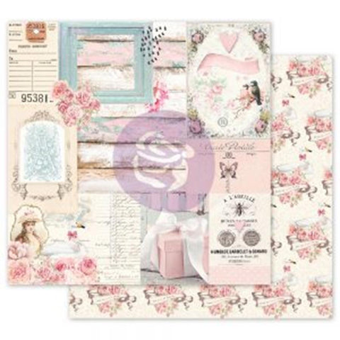 Prima Marketing With Love All Of The Pretty Things Patterned Paper