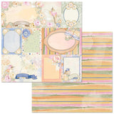 BoBunny Harmony Dragonflies Patterned Paper
