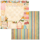 BoBunny Time & Place August Patterned Paper