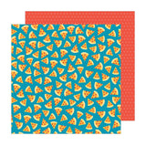 Pebbles Happy Cake Day Pizza Party Patterned Paper