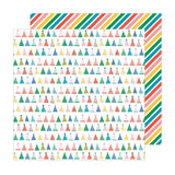 Pebbles Happy Cake Day Party Hats Patterned Paper