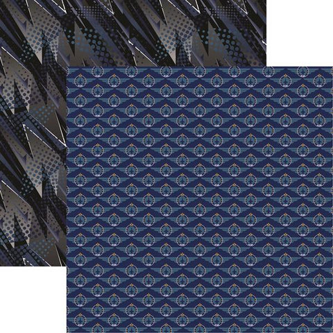 Reminisce Air Force Air Force 2 Patterned Paper