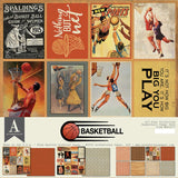 Authentique All-Star Basketball Paper Pack
