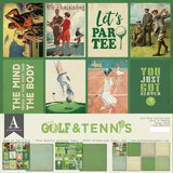 Authentique All-Star Golf & Tennis Paper Pack