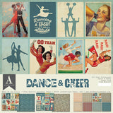 Authentique All-Star Dance & Cheer Paper Pack