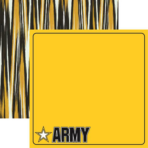 Reminisce Army Army Patterned Paper