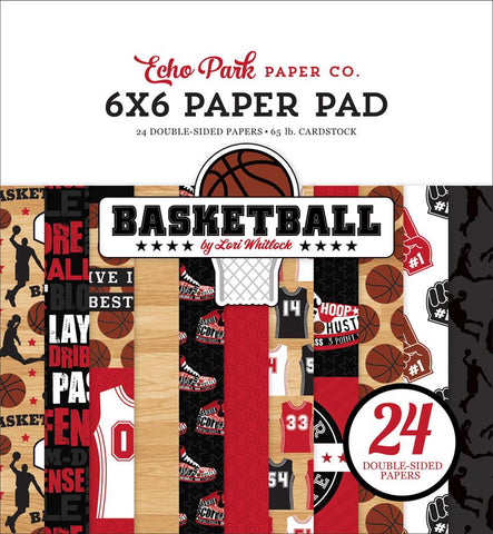 Echo Park Basketball 6x6 Paper Pad