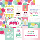 Echo Park Best Summer Ever Multi Journaling Cards Patterned Paper