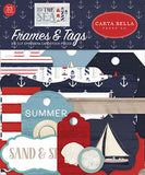 Carta Bella By The Sea Frames & Tags Embellishments